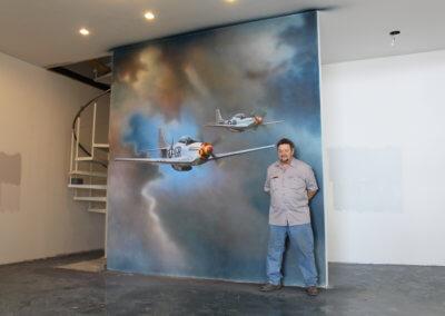 P-51 Mural