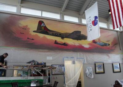 Odessa Airport Mural