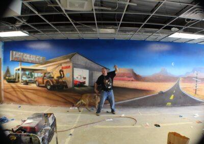 SATA mural