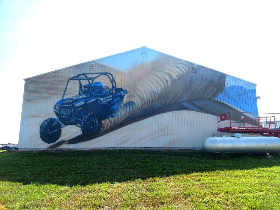 Polaris Mural