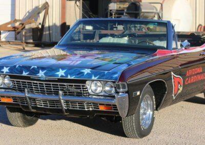 Pat Tillman car